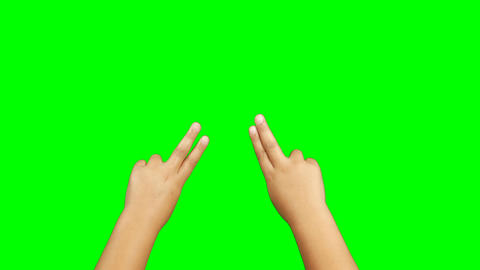 Close-up of kid hand gesturing Live Action