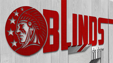 Blinds slideshow Apple Motion Template
