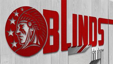 Blinds slideshow Apple Motion-Vorlage