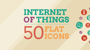 Internet Of Things and Smart Home Icon Set After Effects Project