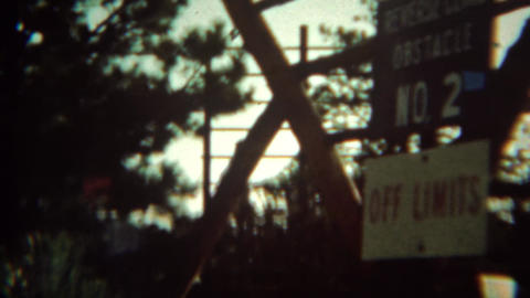 1966: Cadet shows family off limits training obstacle course Live Action