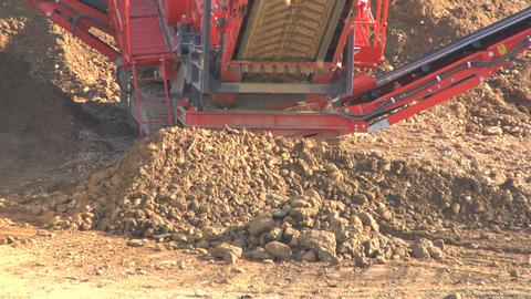 Contruction Site soil slow Live Action