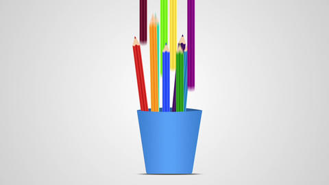 Pencils Animation