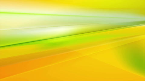 Green and orange abstract stripes video animation Animation