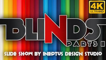 Blinds II 4k slideshow Apple Motion-Vorlage