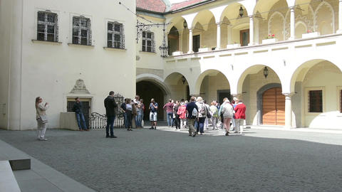 the old town hall in Bratislava Live Action
