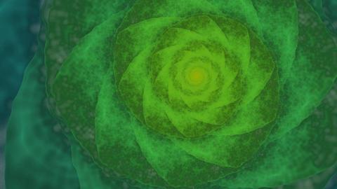Fractal spiral Animación