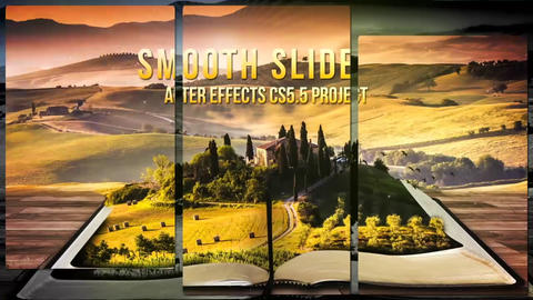 Smooth Slide After Effects Template