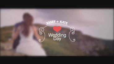 12 Unique Wedding After Effects Project