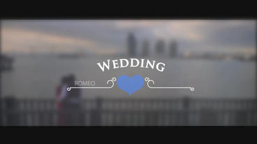 12 Unique Wedding After Effects Template