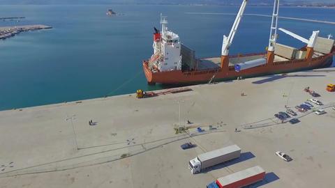 Cargo ship Footage