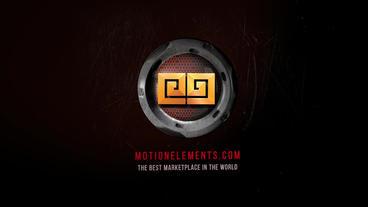 High Tech Gamer Logo Reveal Plantilla de After Effects