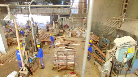 Wood Factory Aerial View 画像