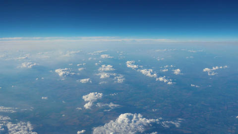 Aerial shot above the clouds in 4K, Live Action