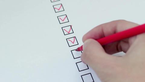 The Checklist Footage