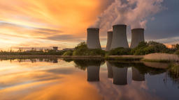 Nuclear Power Station HD Footage