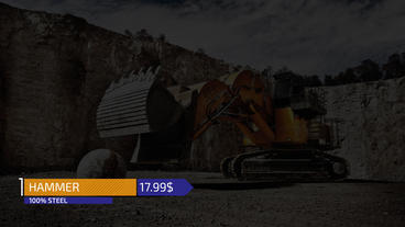 Commercial Titles After Effects Templates