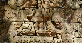 Cambodia Angkor Wat temple ancient ruin complex Ta Som GIF