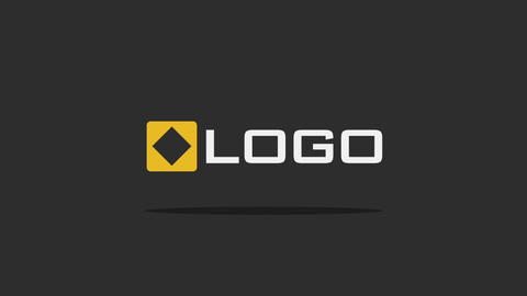 Simple Cartoon Explosion Logo Reveal Flat Color Intro After Effects Template