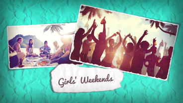Paper Slide Show After Effects Templates