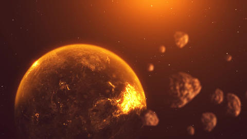 Destroyed Planet Live Action