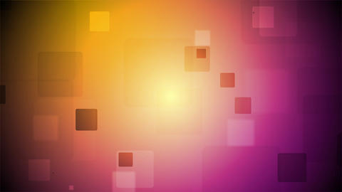 Bright tech squares animated motion background Animation