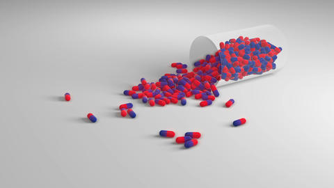Pill container Animation