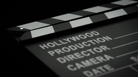 Film Slate Backdrop Footage