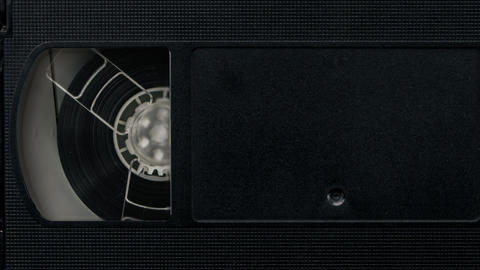 VHS Tape Playing Animación