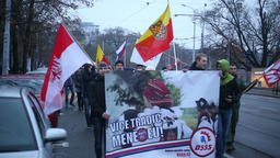 March of radical extremists, suppression of democracy Footage
