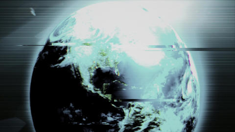 Earth from space Stock Video Footage