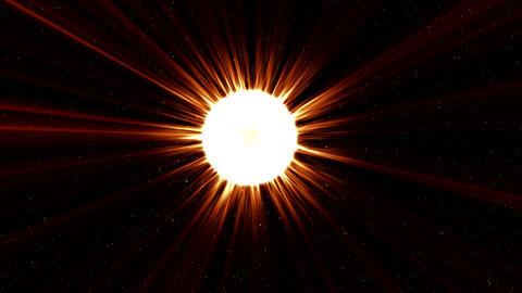 In Front of The Sun Animation Background Animation