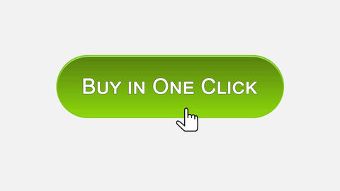 Buy in one click web interface button clicked with mouse, different color choice ライブ動画