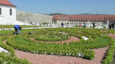 The baroque Garden Footage