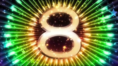 Countdown CG動画素材