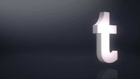 Tumblr Icon Text Background Animation