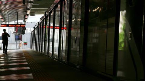 Kuala Lumpur Malaysia Train 4k Footage