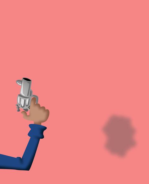 Firing gun Animation