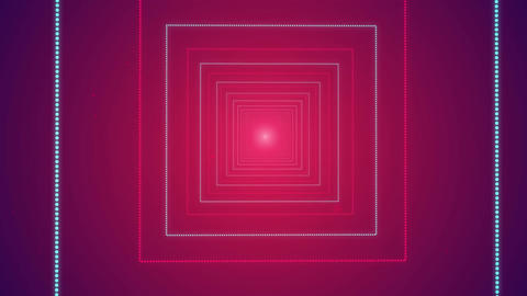 Cube Shape Seamless Looped Tunnel Zoom Romantic Background for your event, title Image