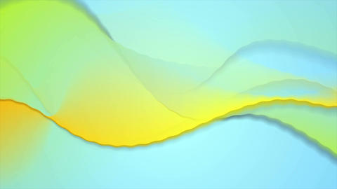Colorful blurred abstract waves video animation Animation
