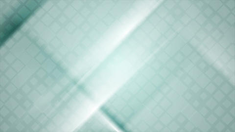 Blue squares and stripes abstract motion design Animation