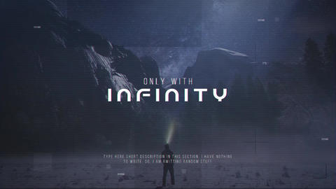 Infinity After Effects Template