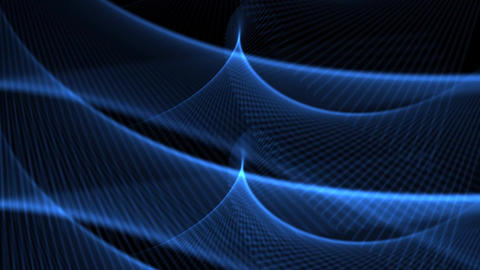 Blue Abstract Waves Background Animation Animation