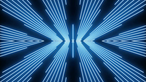 VJ event concert title music videos show party abstract led neon loop Animation