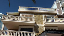Spain Mallorca Island Playa de Palma 015 rustic vacation real estate at beach Footage