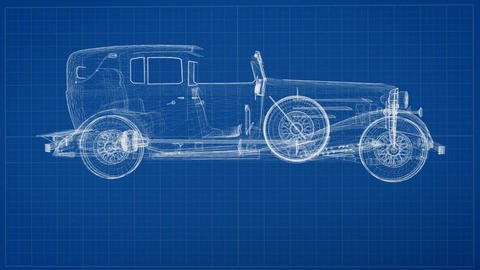 Vintage Car Concept Design