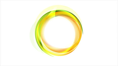 Concept bright corporate ring circle video animation Animation