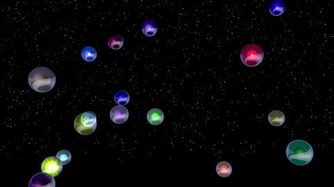 Blink Bulb 05 Vj Loop Animation