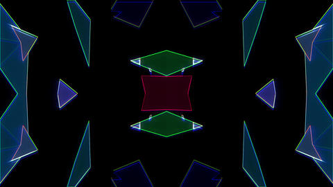 Blink Triangle 01 Vj Loop Animation