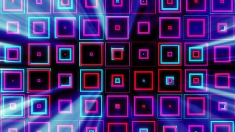 Bright Squares 07 Vj Loop Animation